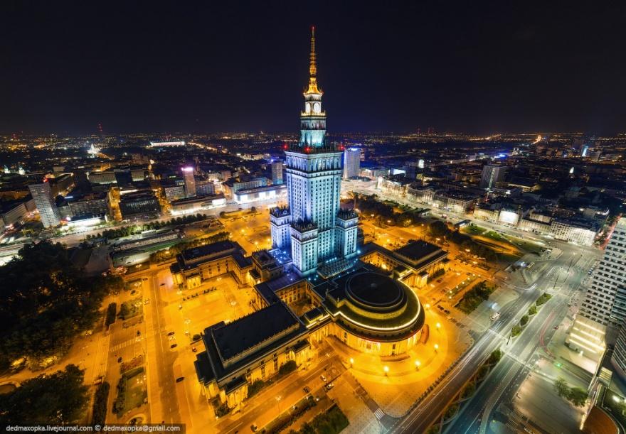 Удивительные фото объектов, снятые русскими экстремалами