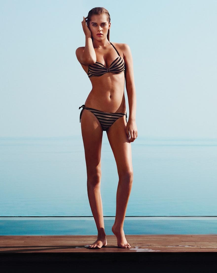 Пляжная фотосессия с Сольвейг Морк Хансен