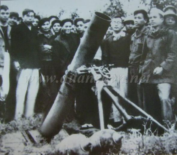 187-мм миномет из Вьетнама