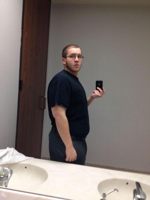 Превращение толстяка в морского пехотинца (18 фото)