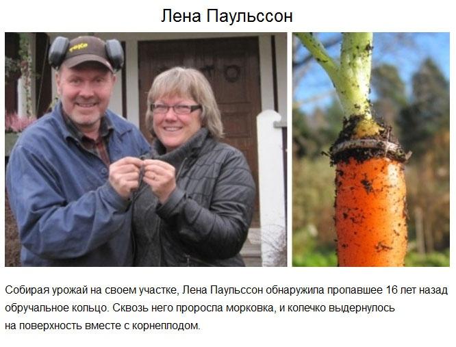 Самые удачливые люди (10 фото)