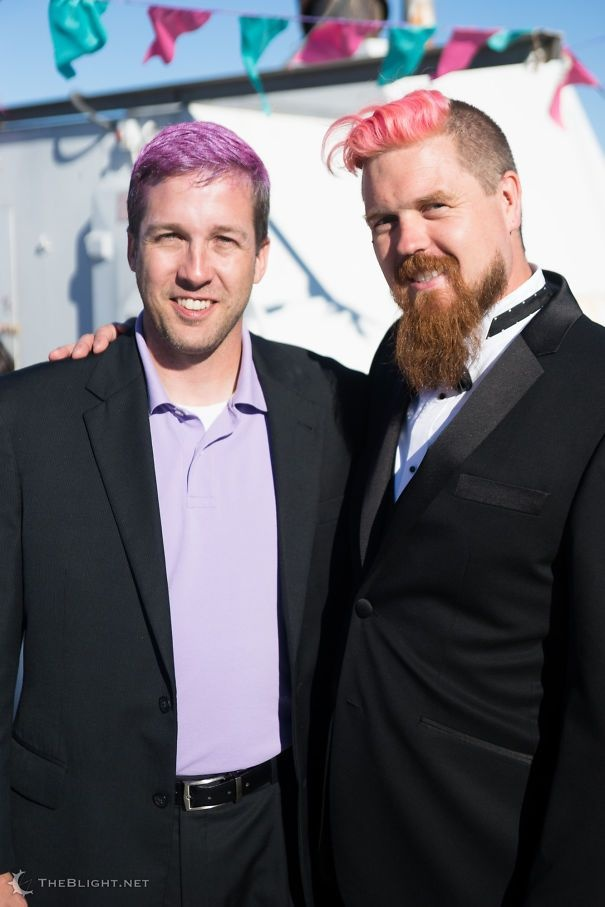 Красим волосы ...и бороды!