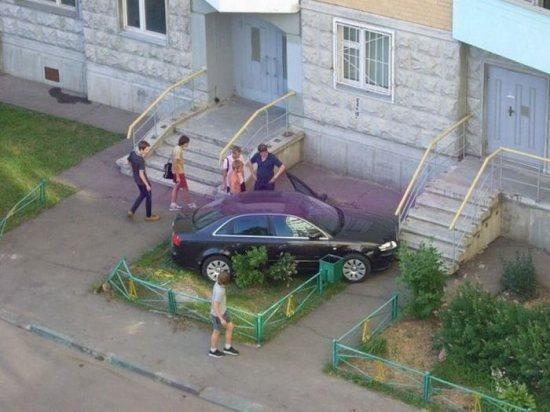 Место аварии предугадать нельзя (28 фото)