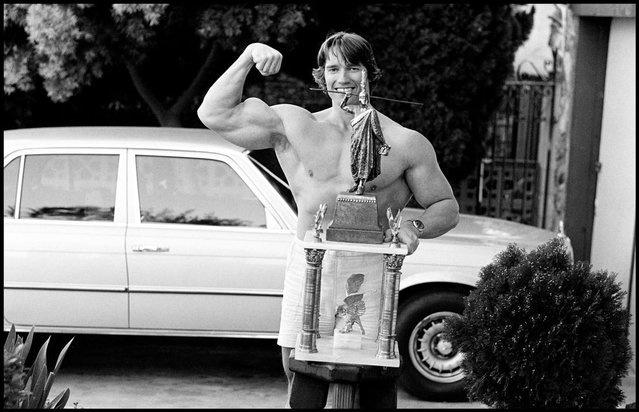 Ранние фото из альбома Арнольда Шварценеггера