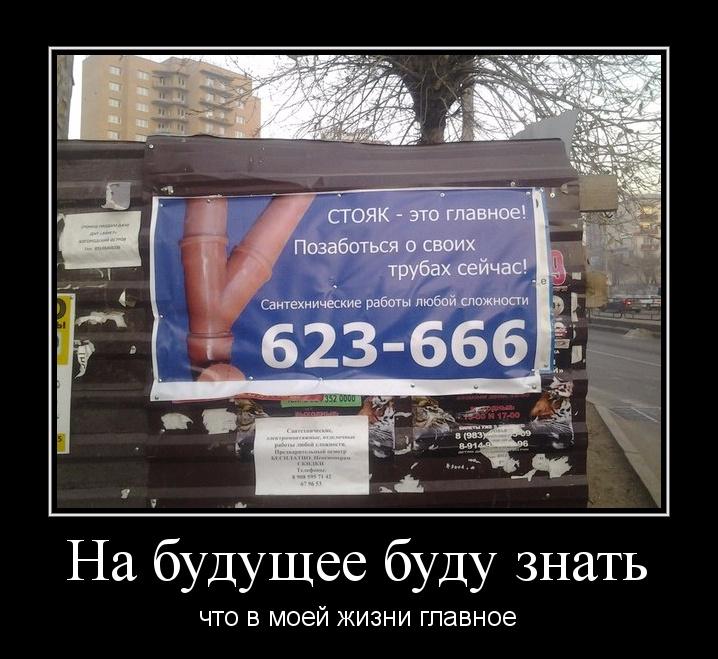 Демотиваторы о рекламе (15 фото)