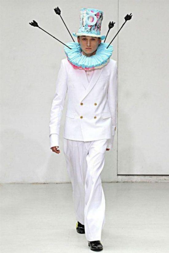 Самые необычные подиумные наряды