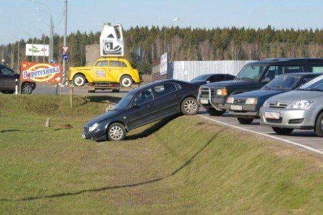 34 примера, как не надо парковаться