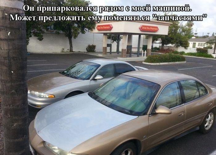 Автоприколы (40 фото)
