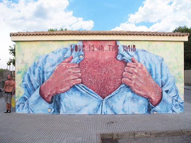 Необыкновенное граффити