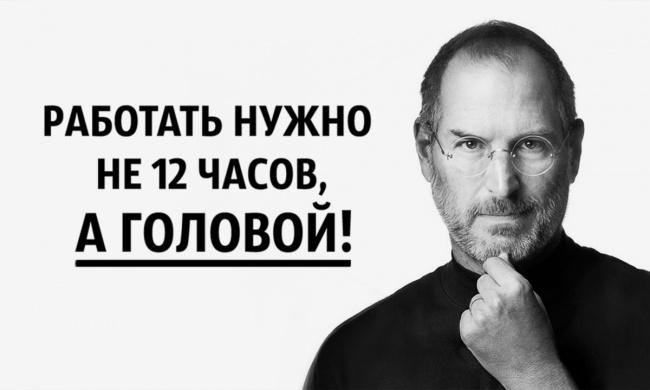 Интересные цитаты от Стива Джобса