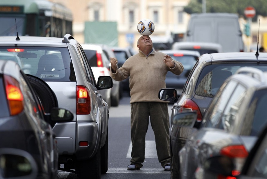 Города страдающие от автомобильных пробок