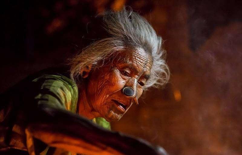 Удивительные женщины из народа апатани