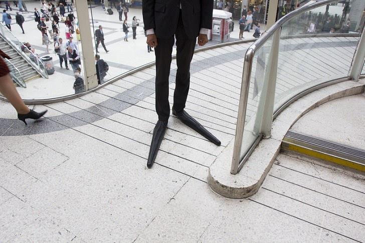 Необычный дизайн туфель