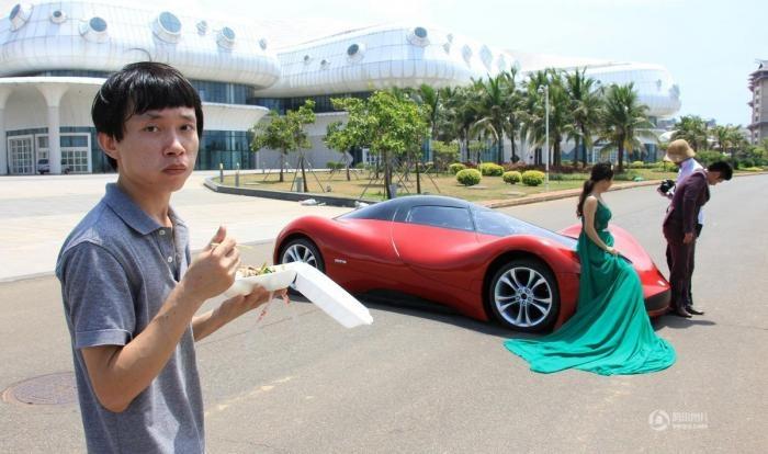 Китаец смастерил себе суперкар (11 фото)