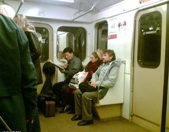 Кого только не встретишь в метро (26 фото)