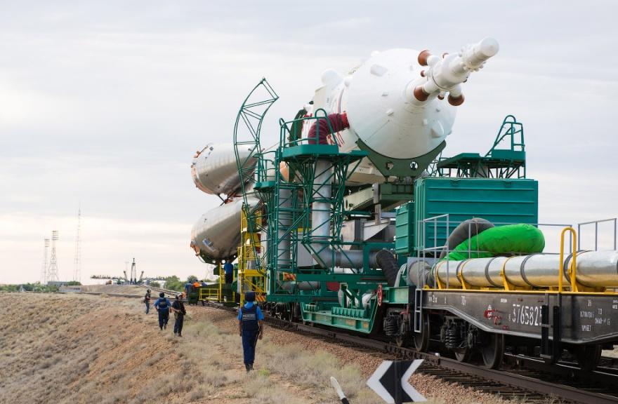 Фотоотчет о старте космического корабля (12 фото)