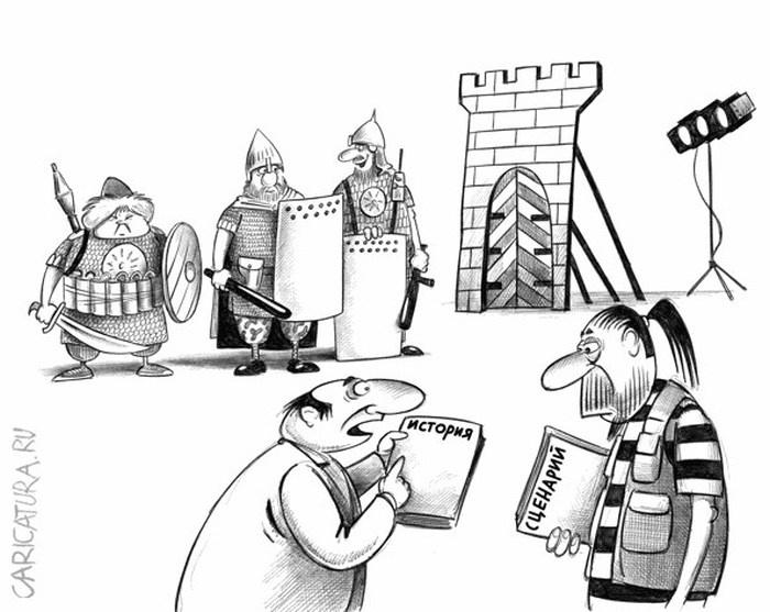 Карикатуры от Сергея Корсуна (52 рисунка)