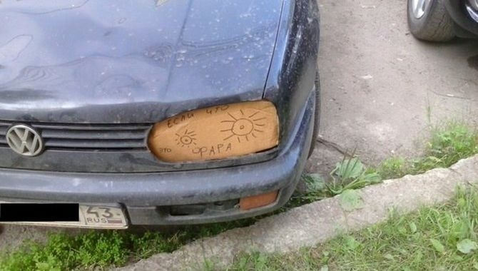 Автомобильный юмор (20 фото)
