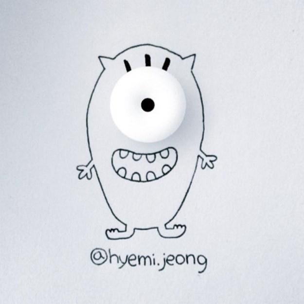 Обычные предметы в рисунках (24 рисунка)