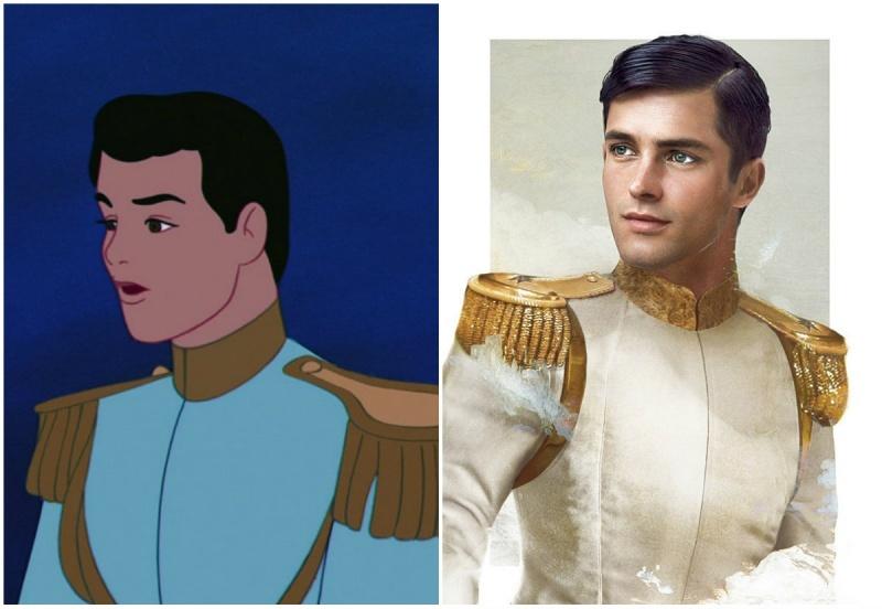Реалистичные принцы из диснеевских мультиков
