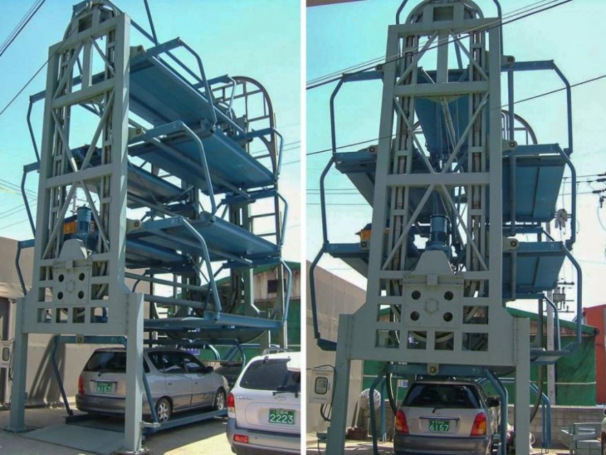 Необычные автоматизированные паркинги (9 фото)