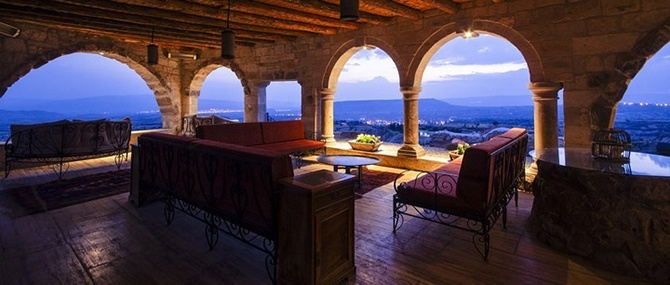 Экскурсия по самому необычному отелю Турции
