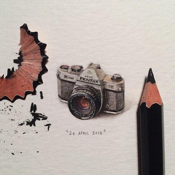 Крошечные рисунки (10 рисунков)