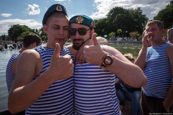 Как десантники отмечали день ВДВ
