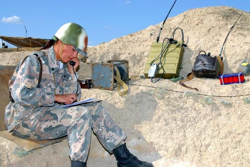 Женская половина казахской армии