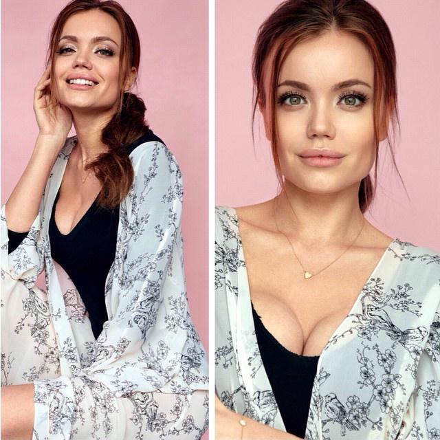 Двойник Анджелины Джоли из Твери (30 фото)