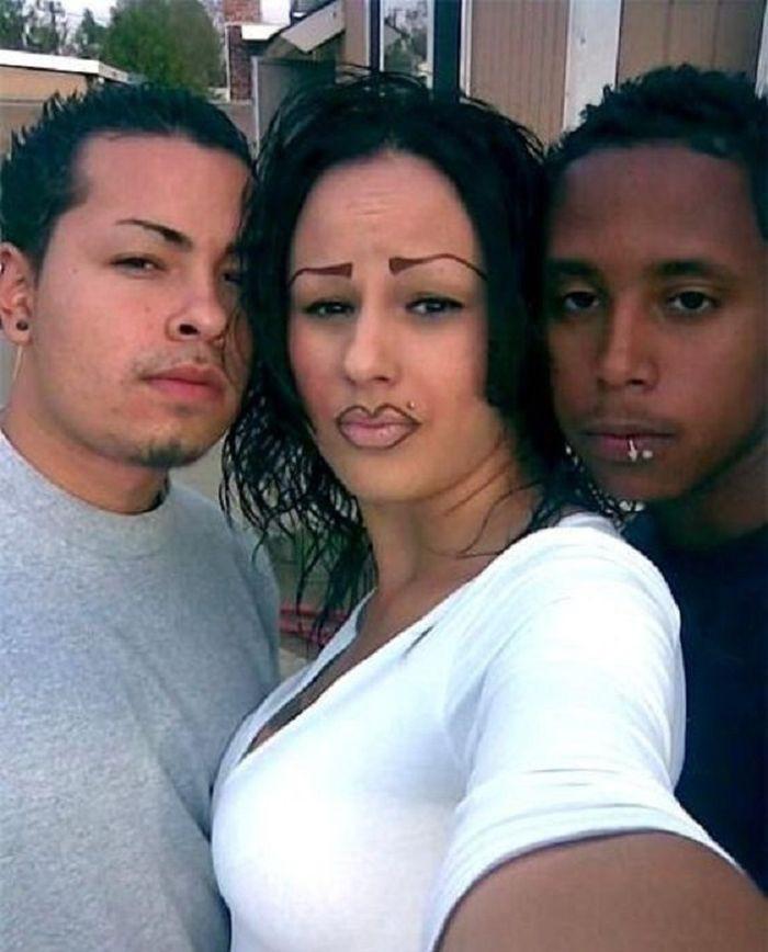 Они считают, что у них красивые брови (25 фото)