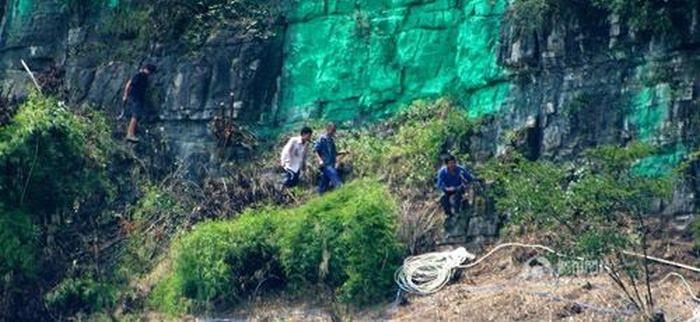 Зеленый цвет горы – это по феншую