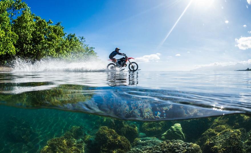 Чудеса езды по воде