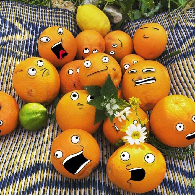 Забавные иллюстрации на фото от Суража Сирохи