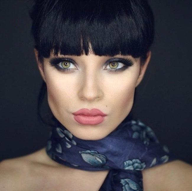 Смена образа с помощью макияжа (6 фото)