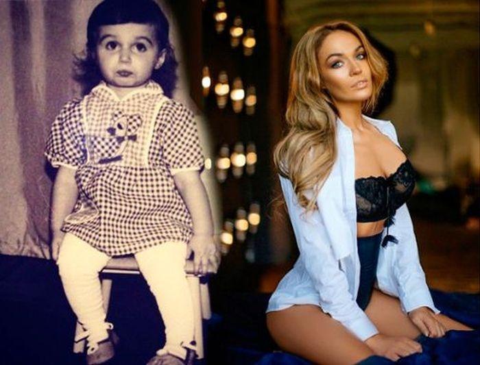 Звезды в детстве и сейчас (10 фото)