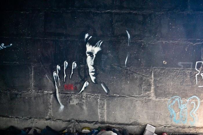 Подборка уличных рисунков (28 фото)