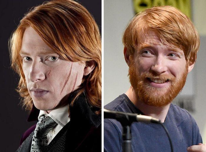 """Как изменили актеры второго плана из """"Гарри Поттера"""" (11 фото)"""