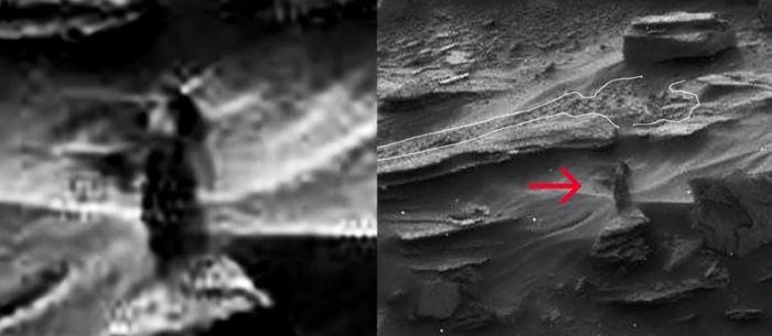 Удивительные снимки с марсохода
