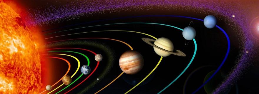 Движение планет вокруг Солнца в гифках