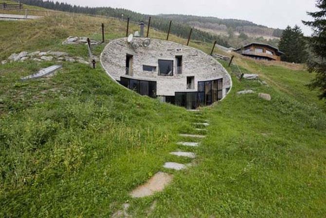 Необычные дизайнерские дома (32 фото)