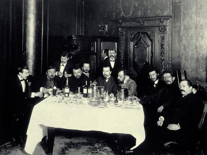 Рассказы о том, как пили русские писатели