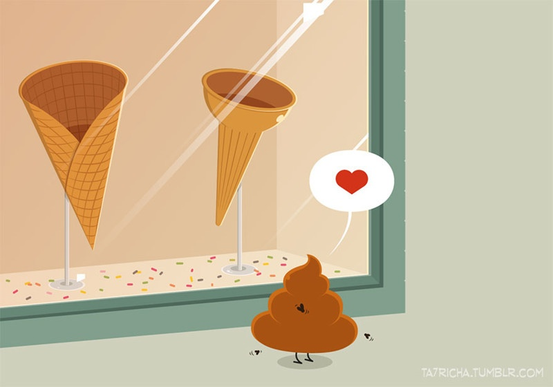 Приключения простых вещей в иллюстрациях (12 фото)