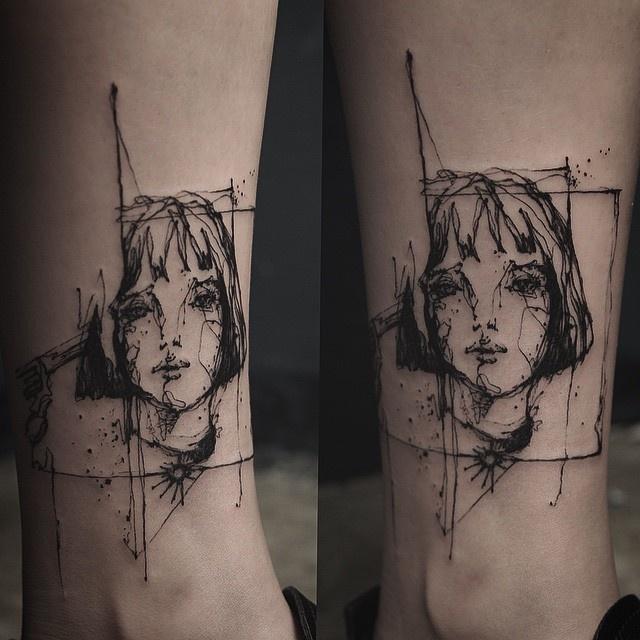 Удивительные татуировки южнокорейского мастера (21 фото)