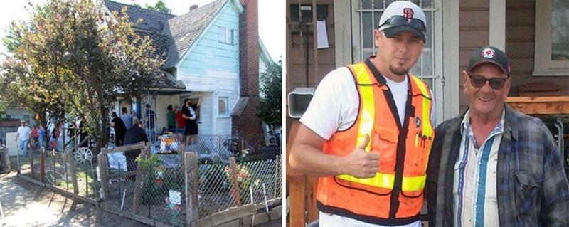 Парень решил помочь старику, услышав, как подростки потешались над его домом