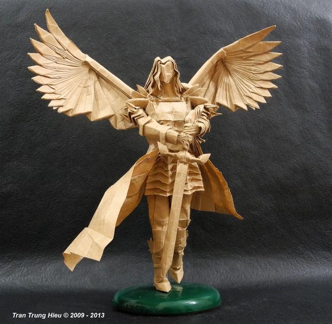 Оригинальные бумажные скульптуры (10 фото)