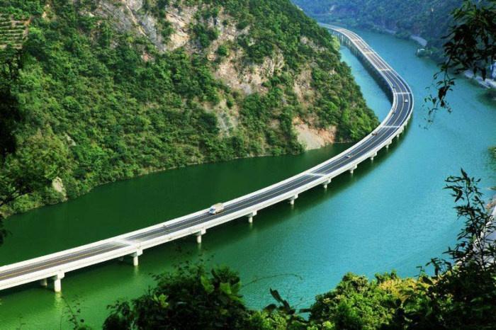 Мост-шоссе в Китае