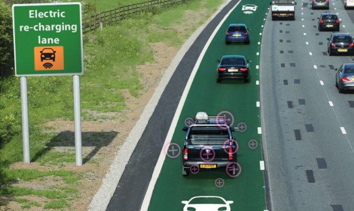 «Электрические» дороги могут появиться в Великобритании (2 фото)
