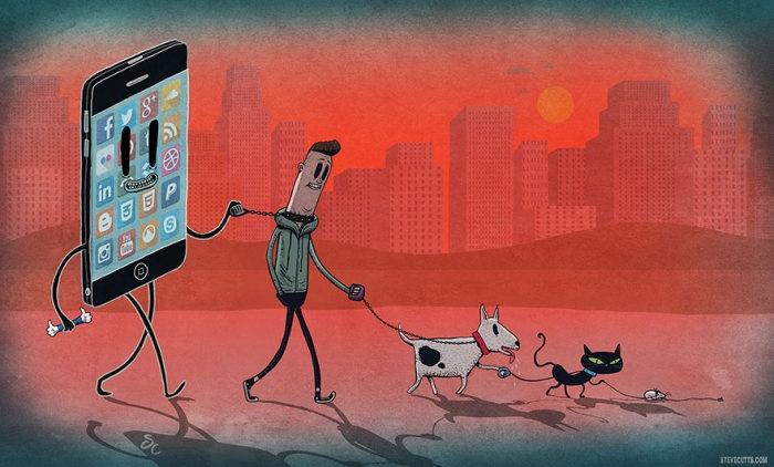 Наш мир в иллюстрациях Стивена Каттса (16 рисунков)