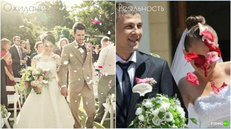 Свадьба: ожидание и реальность